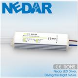 耐达LED 24V5W防水恒压电源IP68铝壳灌胶