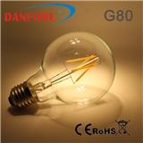 丹枫 LED灯丝灯 4/6/8W可调光钨丝灯 复古欧美认证灯丝球泡灯