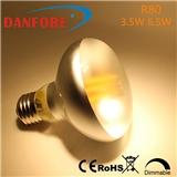 丹枫 高品质R80 LED灯丝球泡 复古爱迪生球泡
