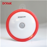 USBUSB充电小夜灯 智能光控LED灯 圆形人体感应灯 新奇特新产品外贸