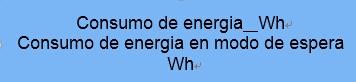 Mexico能效 Energy label