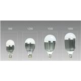 厂家直销 车铝球泡灯 E27/E1螺口室内照明 大瓦数金属球泡 节能