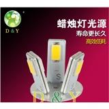 厂家 LED蜡烛灯 360度贴片光源 2835高亮灯珠 SMD焊接 LED灯珠