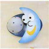 金童玉女 木艺月亮壁灯 型号:MB968-1