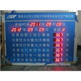 生产厂家供应安全生产计时电子看板