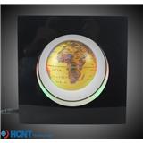衡艺热销玩具礼品 新奇特玩具方形框磁悬浮地球仪