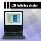 远程遥控L型新型LED展示架 8寸高清液晶屏幕磁悬烟盒手机模型展示架