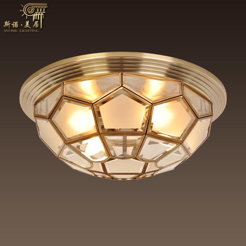 斯诺美居灯具代理欧式客厅吸顶灯十大品牌玻璃吸顶灯400-800-7609