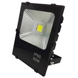 厂家直销LED投光灯 50W LED户外灯 广告招牌防水投射灯