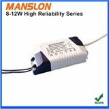 促销 明仕朗8W 10W 12W LED驱动电源 恒流300mA 500mA 700mA高稳定性
