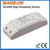 厂家热销高性价比20W 22W 24W外置隔离LED恒流驱动电源 输出电流300mA 500mA