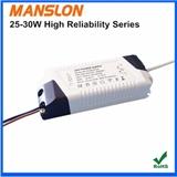 促销高性价比25W 28W 30W外置隔离LED恒流驱动电源 输出电流600mA 700mA