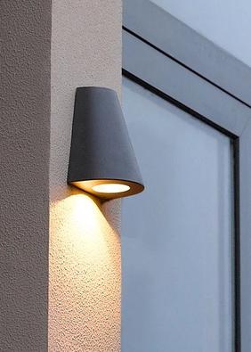 常见的三种户外壁灯安装方式