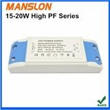 特价 高性价比高PF 15W 20W LED恒流300mA 400mA驱动电源