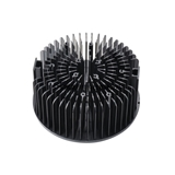 100W冷锻工矿灯散热器 纯铝片状冷锻散热器 LED工矿灯散热器