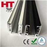 LED射灯四线导轨条 PU轨道条配件 导轨射灯轨道条 铝合金装饰导轨条 TUV CE ROHS
