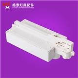 供应欧规二线三线四线轨道灯电源盒 全新pc材料LED射灯驱动电源盒 electrical box
