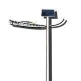11米80w太阳能LED路灯 太阳能路灯景观灯庭院灯高杆灯厂家定制