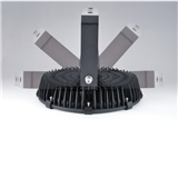 纯铝1070泛光灯冷锻散热器 工矿灯散热器 200W大功率冷段散热器