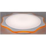 圆形LED吸顶灯DYD-35016月亮曲橙/DYD-35017月亮曲蓝