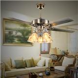 厂家直销仿古大铁叶电扇灯豪华装饰风扇灯吊扇灯KBS-4804