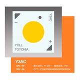 TOYONIA HR系列-Y3AC高显指、高光效、高密度、高端覆晶、倒装COB