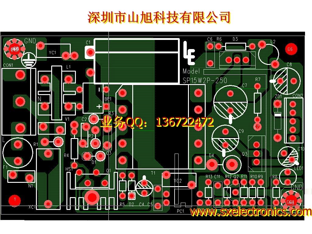 山旭科技多层印制hdi电路板设计hdi电路板pcb线路板厂