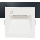 LED感应地脚灯 1.2W嵌入式走廊过道灯 光感红外感应墙角灯 FOLUX