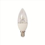 欧电 LED C37水晶蜡烛灯6W