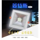 厂家直销LED方形COB玻璃面板灯002