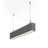 阿柳照明 DS4880办公照明 LED线型灯 铝材吊线灯 无缝拼接线形灯