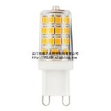 调光LED G9 灯泡 LED 玉米灯 陶瓷灯泡替代硅胶G9 CE/ROHS 认证