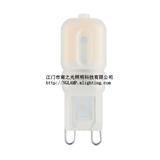 LED G9 灯泡玉米灯 塑料外壳替代传统卤素G9 灯泡 CE ROHS TUVE 认证
