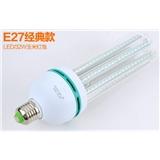 T3+LED灯泡E27螺口3W暖白led玉米灯U型E14节能灯超亮B22卡口