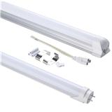 T8LED日光灯管T5支架节能灯管T8一体铝塑灯管外贸款厚铝宽压出口质保三年灯管专业厂家直销