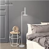 现代极简LED金属客厅卧室书房工程落地灯黑色白色时尚个性灯饰