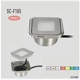 DC12V小0.6w平方IP67防水户外LED埋地灯/地下花园(sc-f105a)