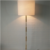 落地灯批发 外贸客厅酒店拉线式 亚克力白色纯亚麻布灯罩落地灯
