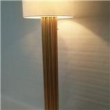 金箔 银箔落地灯客厅酒店专用拉线式 供应白色纯亚麻布灯罩落地灯