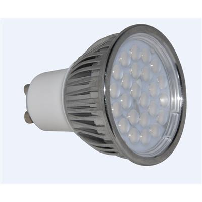 LED 贴片灯杯 MR16 GU10 GU5.3灯头 可调光 过EMC ROHS 5W