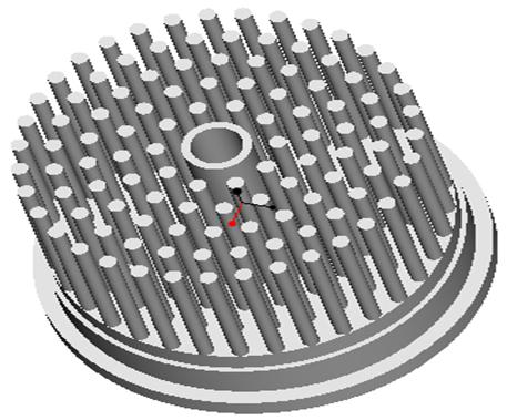 东莞捷大 纯铝冷段散热器 大功率LED散热器 工矿灯 球灯 轨道灯 射灯 JT-0011