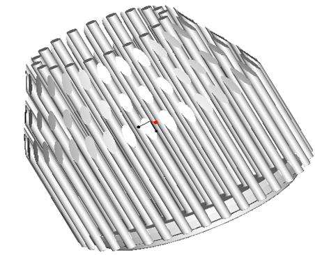 东莞捷大 纯铝冷段散热器 大功率LED散热器 工矿灯 球灯 轨道灯 射灯 JT-0015