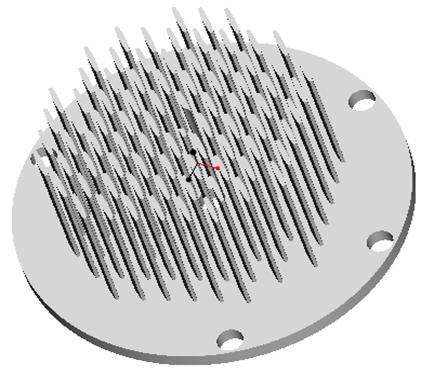东莞捷大 纯铝冷段散热器 大功率LED散热器 工矿灯 球灯 轨道灯 射灯 JT-0019