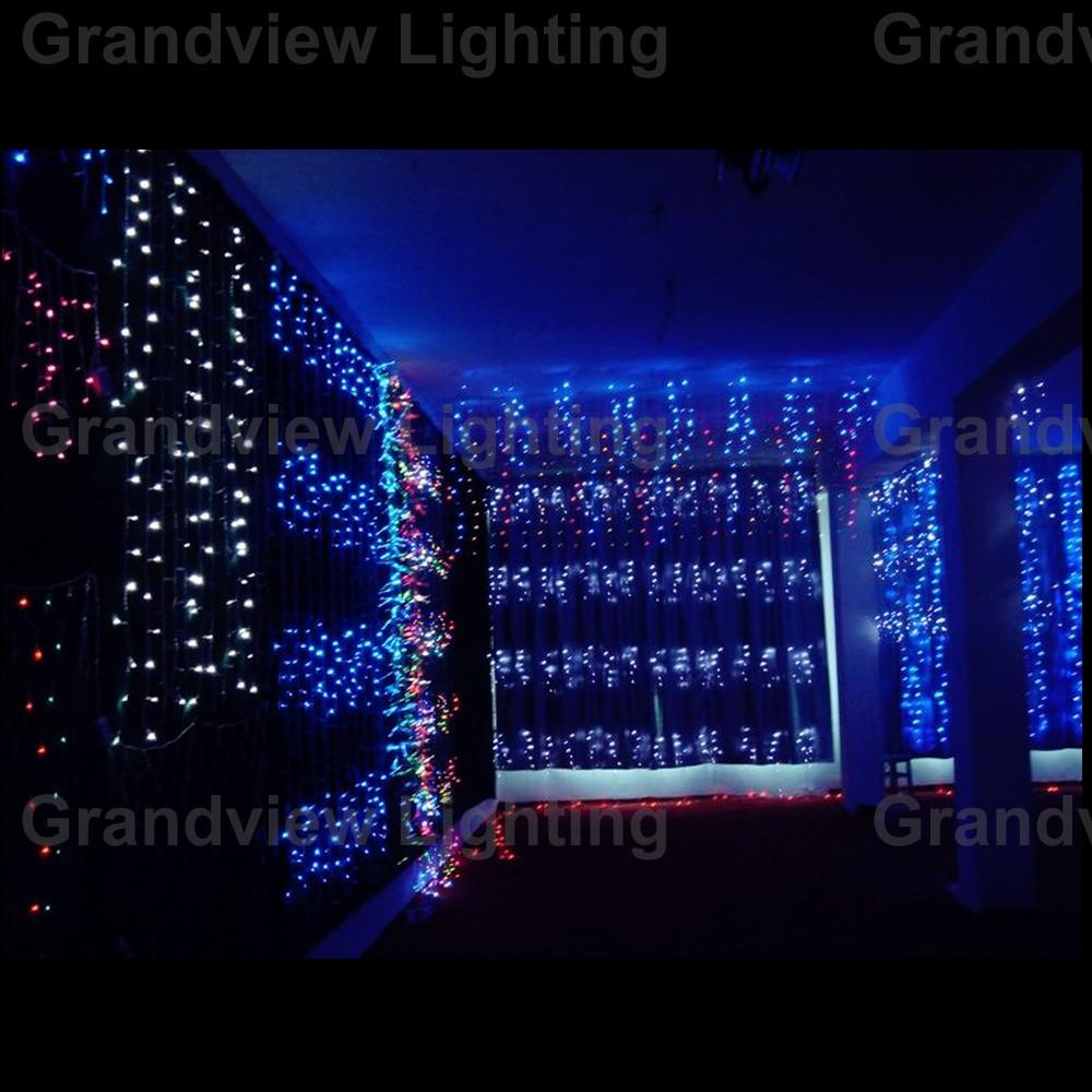 led窗帘灯 节日彩灯 圣诞装饰