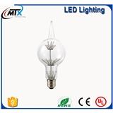 led美式乡村复古装饰灯泡 led拉尖式3w装饰灯泡 led光源LED球泡灯具