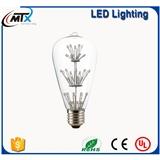 led满天星装饰3W 创意爱迪生复古 led光源LED灯具厂家直销