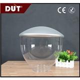 亚克力灯罩 透明银顶色亚克力灯罩 喇叭形户外照明装饰灯罩