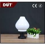 出口吹塑异形灯罩 pmma塑料 葫芦形 40W 奶白围墙灯