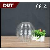 厂家供应 户外照明灯罩 不易碎 PMMA塑料圆球形灯罩