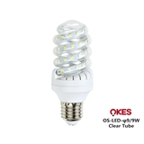 OKES澳克士LED CFL 螺旋管 E27B22 灯泡9W12W18W24W